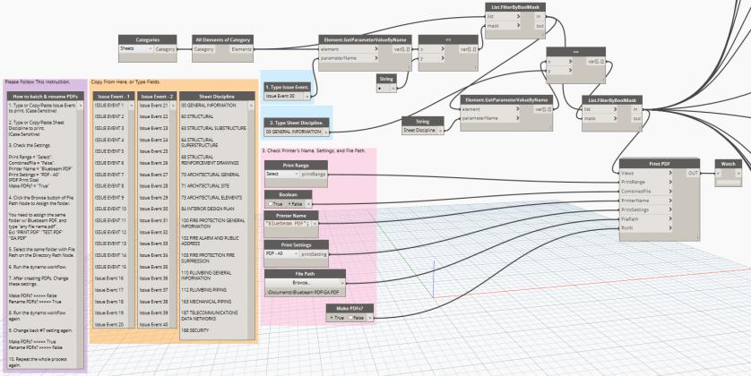 Dynamo Batch PDFs Workflow-2