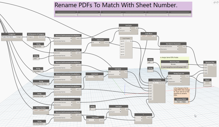 Dynamo Batch PDFs Workflow-4